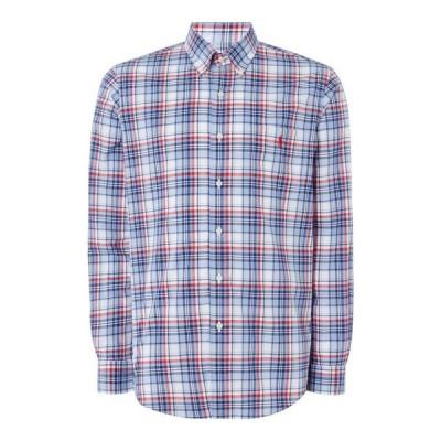 ラルフ ローレン Polo Ralph Lauren メンズ ポロシャツ トップス Polo Check Shirt S92 Navy