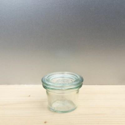 WECK MOLD SHAPE 25ml ウェック モールド シェイプ WE-756 キャニスター 保存瓶 ドイツ