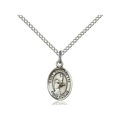 [新品]RIF Store Sterl. Silv-r Saint Bernadette Petite Charm, 1/2 Inch #A-1-5412