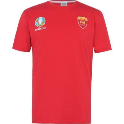 UEFA メンズ Tシャツ トップス Spain Core T-Shirt Red