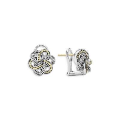 ラゴス レディース ピアス・イヤリング アクセサリー Sterling Silver & 18K Yellow Gold Love Knot Stud Earrings