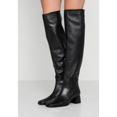 フィリッパコー ブーツ&レインブーツ レディース シューズ CAMILLE HIGH BOOT - Over-the-knee boots - black