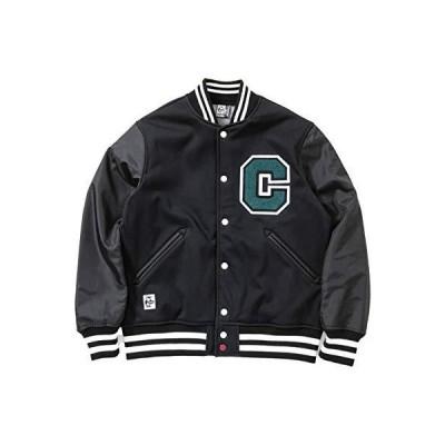 チャムス ジャケット Teeshell Award Jacket Black 日本 S (日本サイズS相当)