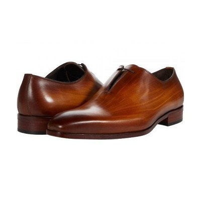Massimo Matteo マッシオマッテオ メンズ 男性用 シューズ 靴 オックスフォード 紳士靴 通勤靴 Almansa Oxford Side Lace - Ambar
