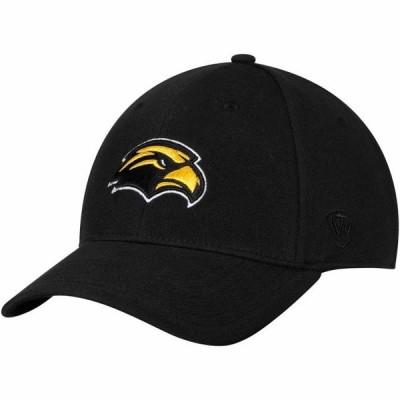ユニセックス スポーツリーグ アメリカ大学スポーツ Southern Miss Golden Eagles Top of the World Class Flex Hat - Black 帽子