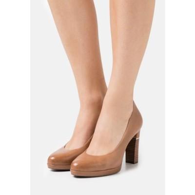 タマリス レディース 靴 シューズ Platform heels - nut