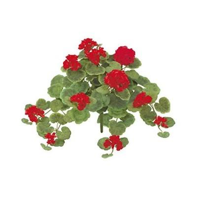 造花 ゼラニュウム ゼラニュウムブッシュ 人工観葉植物 屋外使用可