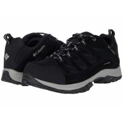 Columbia コロンビア メンズ 男性用 シューズ 靴 ブーツ ハイキング トレッキング Crestwood Waterproof Black/Columbia【送料無料】