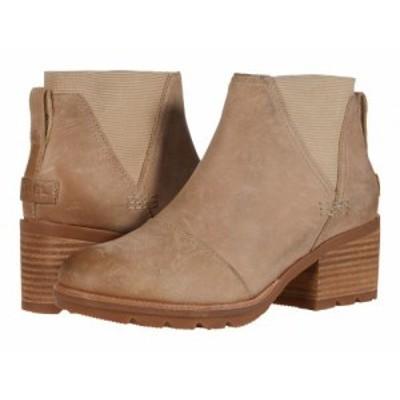 SOREL ソレル レディース 女性用 シューズ 靴 ブーツ チェルシーブーツ アンクル Cate(TM) Chelsea Sandy Tan【送料無料】