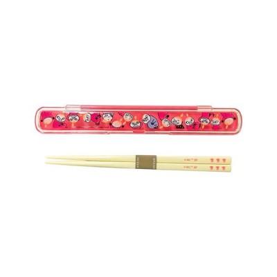 SP/MOOMIN(ムーミン) お箸+箸ケース ランチ/リトルミイ ピンク MMLC3565(取/ギフト不可)
