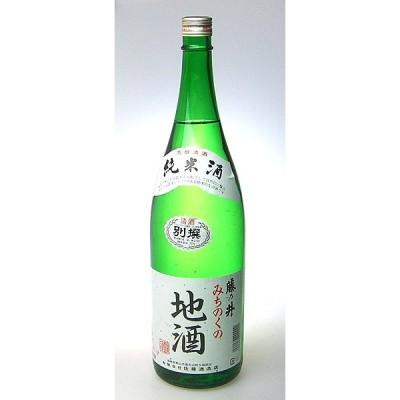 【佐藤酒造店】藤乃井 みちのく純米酒 1800ml ギフト プレゼント(4984989000076)