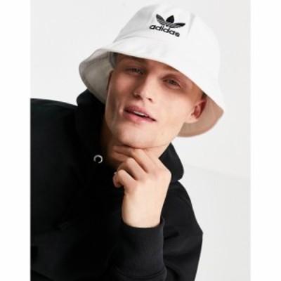 アディダス adidas Originals メンズ ハット バケットハット 帽子 adicolor bucket hat in white ホワイト