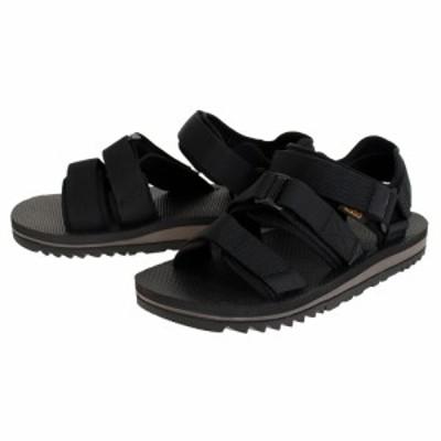 テバ(Teva)サンダル メンズ ストラップサンダル クロスストラップ トレイル 1107749-BLK ブラック 黒(Men…