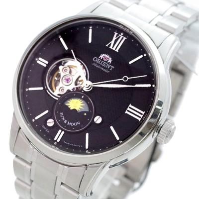 オリエント ORIENT 腕時計 メンズ RN-AS0001B 自動巻き ブラック シルバー 【国内正規】 送料無料