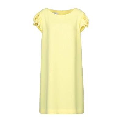 WEILL ミニワンピース&ドレス イエロー 40 ポリエステル 100% ミニワンピース&ドレス