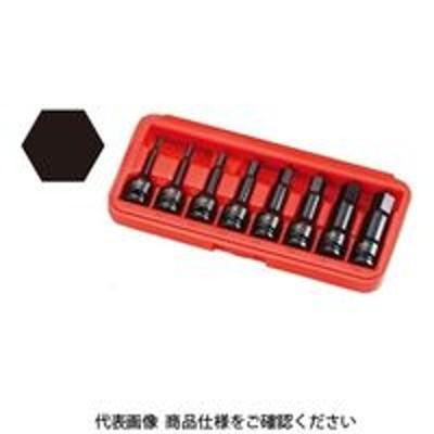 ラグナラグナ(JTC) JTC 12.7mmロングインパクト6角ソケットセット JTCJ408LH 1セット(直送品)