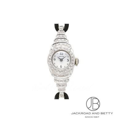 ハミルトン HAMILTON ダイヤモンドウォッチ アンティーク 時計 レディース