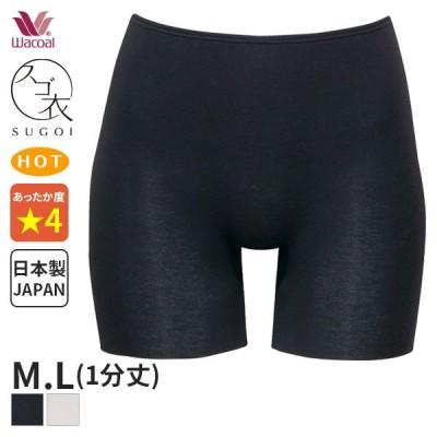 【B】25%OFF ワコール スゴ衣 ニットボトム 1分丈(M Lサイズ)HLC161 [m_b]