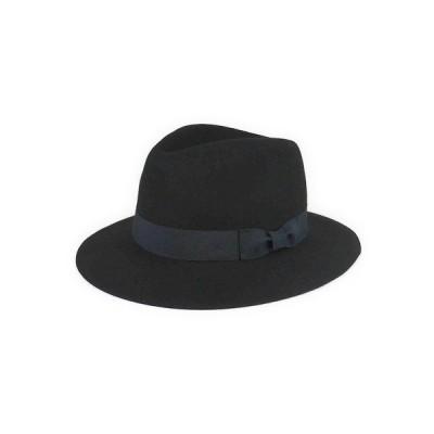 ★★AW ウールフエルトフェドラ中折 ヤング帽子 45