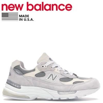 ニューバランス new balance 992 スニーカー メンズ Dワイズ MADE IN USA グレー M992NC