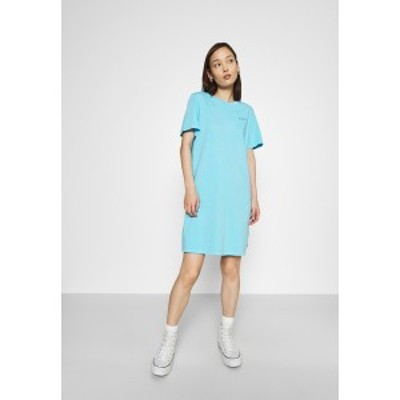 リーバイス レディース ワンピース トップス ELLE DRESS - Jersey dress - blue topaz blue topaz