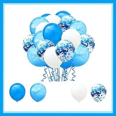 送料無料20個 風船 バルーン パーティー 誕生日 飾り付け パーティー誕生日 結婚式 パーティー 記念日 誕生日 二次会 子供会 10インチ ブルー