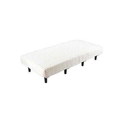 アイリスプラザ 脚付きマットレス ポケットコイル シングル すのこベッド コイル数462個 搬入らくらく 圧縮梱包 ベッド 耐久性・通気性 AATM-