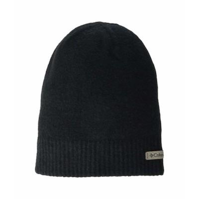 コロンビア 帽子 アクセサリー メンズ Ali Peak Lightweight Beanie Black