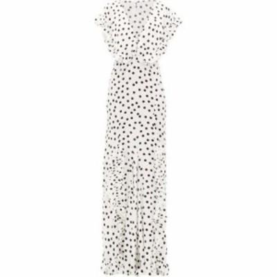 ラットandボア Rat and Boa レディース ワンピース マキシ丈 ワンピース・ドレス Mariella polka-dot print maxi dress White