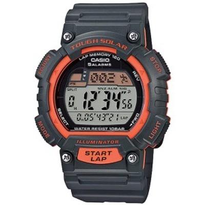取寄品 正規品 CASIO腕時計 カシオ SPORTS デジタル表示 丸形 カレンダー タフソーラー 10気圧防水 STL-S100H-4AJ メンズ腕時計 送料無料