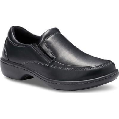 イーストランド Eastland レディース スリッポン・フラット シューズ・靴 Molly Slip On Black Tumbled Synthetic