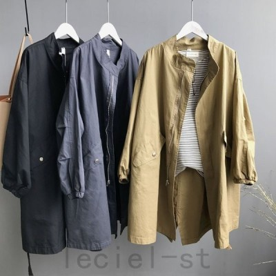 何にでも合わせやすいデザインコート スプリングコート ロングコートスプリングコート ロングコート コート