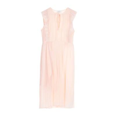 SANDRO 7分丈ワンピース・ドレス ピンク 36 ポリエステル 100% 7分丈ワンピース・ドレス