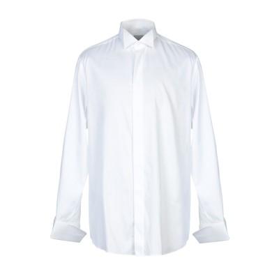 ISCA シャツ ホワイト 43 コットン 100% シャツ