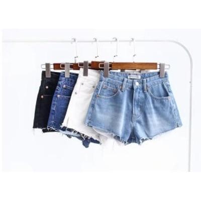 レディース ジーンズ デニムパンツ ショートパンツ 短い ゆったり 夏ショートパンツ レディースファッション