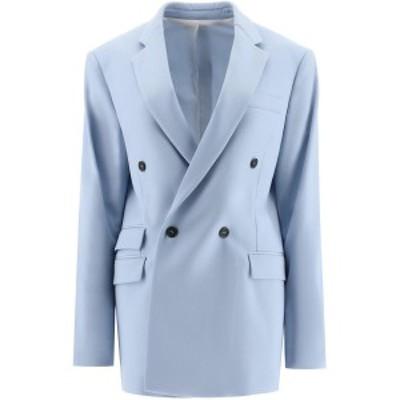 STELLA MCCARTNEY/ステラ マッカートニー ブレザー ANGEL BLUE Stella mccartney holden blazer レディース 秋冬2020 601835 SPA03 ik