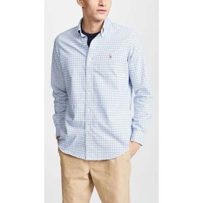 ラルフ ローレン Polo Ralph Lauren メンズ シャツ トップス Check Oxford Sportshirt Blue/White