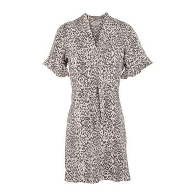 ALLSAINTS ミニワンピース&ドレス サンド M レーヨン 100% ミニワンピース&ドレス