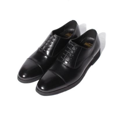 (coca/コカ)Midland Footwears (ミッドランド フットウェアズ) 本革 内羽根 ストレートチップ/メンズ ブラック