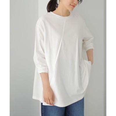 tシャツ Tシャツ アシンメトリーカットチュニック *