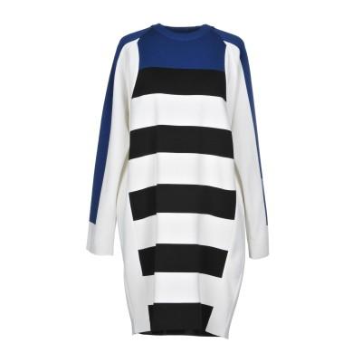 ディースクエアード DSQUARED2 ミニワンピース&ドレス ホワイト XS コットン 50% / シルク 50% ミニワンピース&ドレス