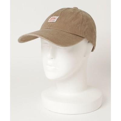 帽子 キャップ ネームワッペン ベースボール キャップ ツイル デニム