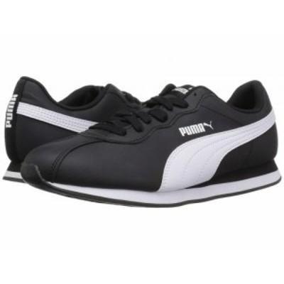 PUMA プーマ メンズ 男性用 シューズ 靴 スニーカー 運動靴 Turin II Puma Black/Puma White【送料無料】
