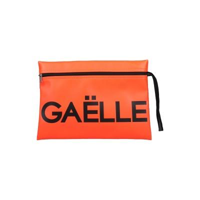 GAëLLE Paris ハンドバッグ オレンジ 紡績繊維 ハンドバッグ