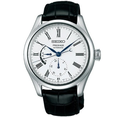 セイコー プレサージュ 腕時計 メンズ 自動巻き メカニカル 機械式 SEIKO PRESAGE ホワイト 革ベルト SARW035        (入荷後、3営業日以内に発送)