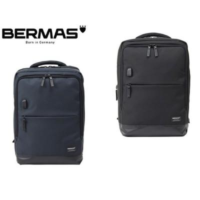 BERMASバーマス 13インチPC収納可能 BAUERIII キャリングパック46c リュックサック リュック USBポート付き 容量:22L 60077 6893201 kinu35