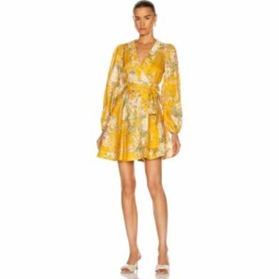 ジマーマン Zimmermann レディース ワンピース ラップドレス ワンピース・ドレス amelie wrap short dress Amber Floral