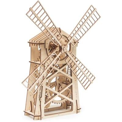 立体パズル ウッドトリック クラシック風車 3Dウッドパズル 模型