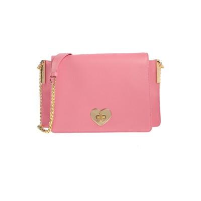 ツインセット シモーナ バルビエリ TWINSET メッセンジャーバッグ ピンク 牛革 100% メッセンジャーバッグ