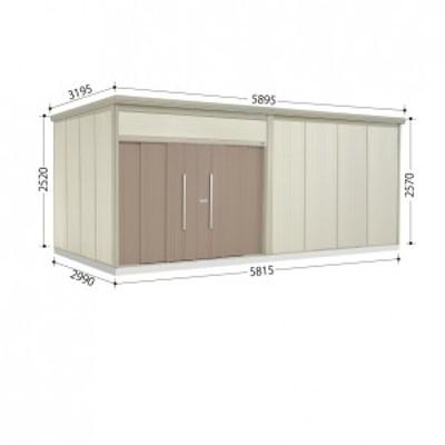 物置 屋外 おしゃれ タクボ物置 JN/トールマン JN-5829 一般型 標準屋根 カーボンブラウン